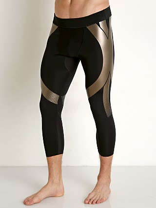 Under Armour Perpetual Powerprint 1/2 Leggings Black/Metallic Se