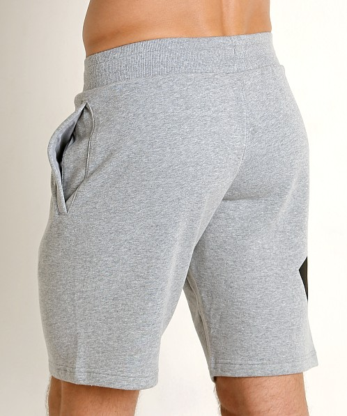 Under Armour Rival Fleece Logo Sweatshort Steel Light Heather/Bl