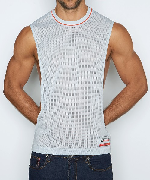 C-IN2 Scrimmage Lift Tank Top Coin Grey