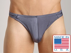 California Muscle C/Ring Swim Thong Charcoal