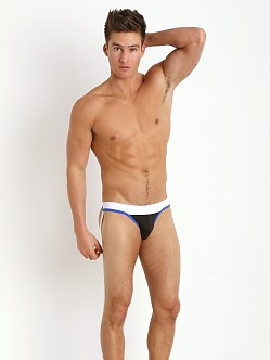 Tulio Slinky Power Pouch 3-Way Jock Thong Black/Royal/White