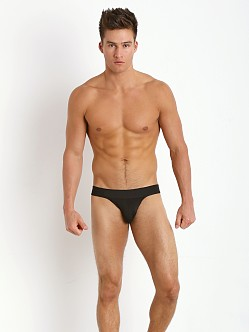 Tulio Slinky Power Pouch 3-Way Jock Thong Black