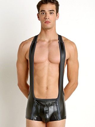 Cell Block 13 Octane Codpiece Zipper Singlet Grey