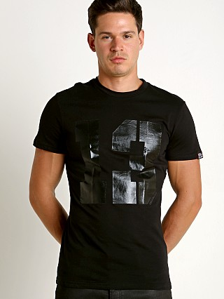"Complete the look: Cell Block 13 Logo ""13"" Crew Neck Tee Shirt Black"