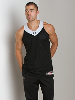 Under Armour Dominate Reversible Tank Top Black/White