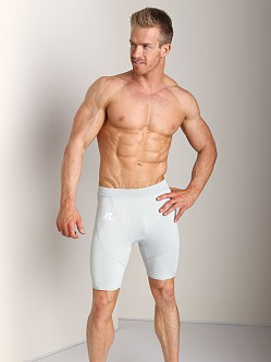 Russell Athletic Performance Compression Short Gridiron Silver