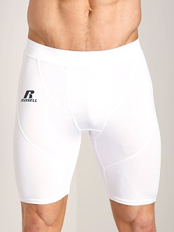 Russell Athletic Performance Compression Short White