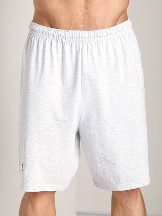Russell Athletic 100% Cotton Gym Short Ash