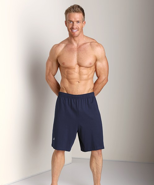 Russell Athletic 100% Cotton Gym Short Navy