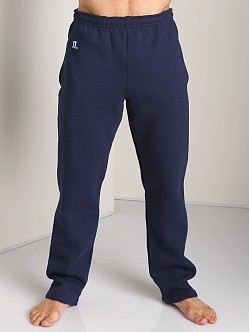 Russell Athletic Dri-Power Cotton Blend Fleece Sweat Pant Navy