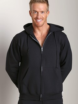 Russell Athletic Dri-Power Cotton Blend Full Zip Hoodie Black