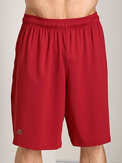 Russell Athletic Dri-Power Stretch Piston Pocket Short Cardina