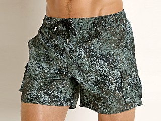 2xist Fashion Cargo Swim Shorts Dot Camo