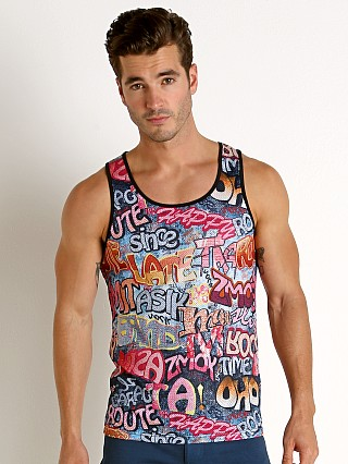 You may also like: St33le Stretch Mesh Tank Top Printed Graffiti