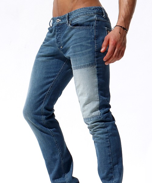 Rufskin Bailey Japanese Denim Jeans Beat-Up Wash