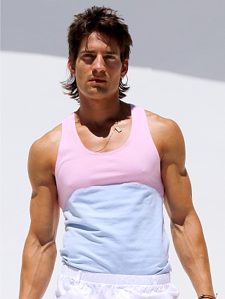 You may also like: Rufskin Neutral Stretch Cotton Tanktop Pink & Blue