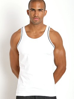 Diesel Cracked Mohawk Carlos Tank Top White