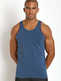 Diesel Cracked Mohawk Carlos Tank Top Royal Blue