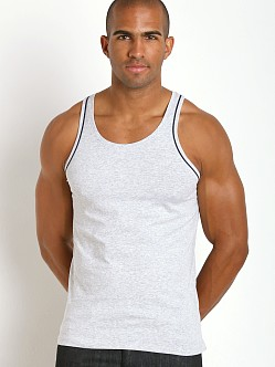 Diesel Cracked Mohawk Carlos Tank Top Grey