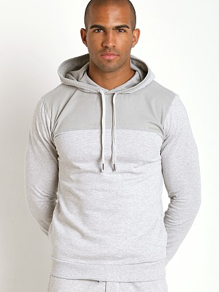 Diesel 100% Cotton Brandon Sweat Shirt Heather Grey