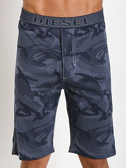 Diesel Martiny Camo Shorts Blue
