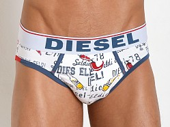 Diesel Chili Pepper And Beer Andre Brief White