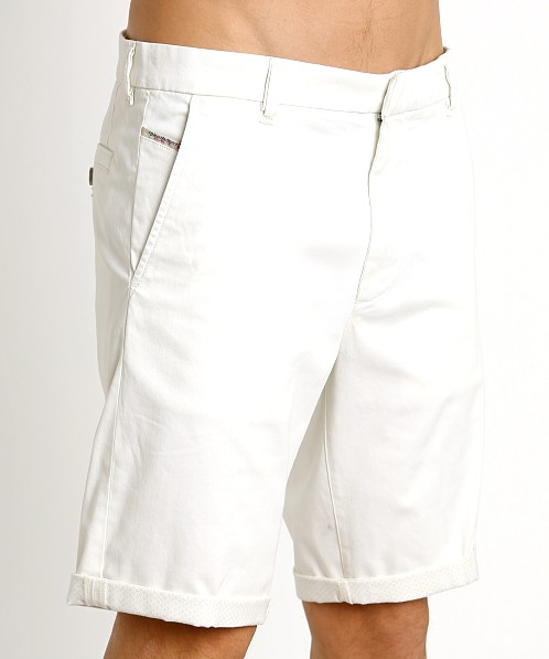 Diesel Chi-Driver Chino Shorts Bright White
