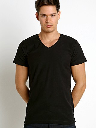 Diesel T-Court V-Neck Shirt Black