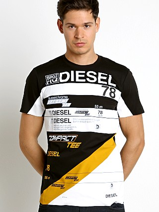 Diesel T-Joe-Ni Racing T-Shirt Black