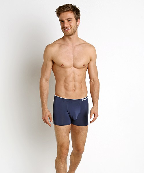 John Sievers HIGHLITE Natural Pouch Boxer Briefs Navy