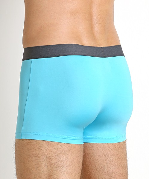 John Sievers SLEEK Natural Pouch Boxer Briefs Lagoon