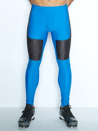 C-IN2 Grip Athletic Cross Train Leggings Electric Blue