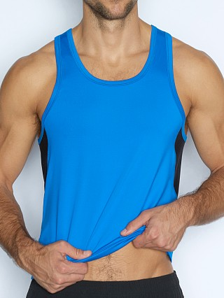 C-IN2 Grip Athletic Tank Top Electric Blue
