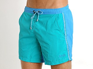 Hugo Boss Snapper Swim Shorts Teal/Turquoise