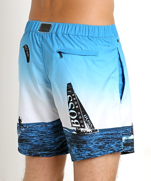 Hugo Boss Blackfish Swim Shorts Blue