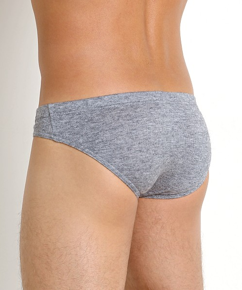 Modus Vivendi Mohair-Look Brief Grey