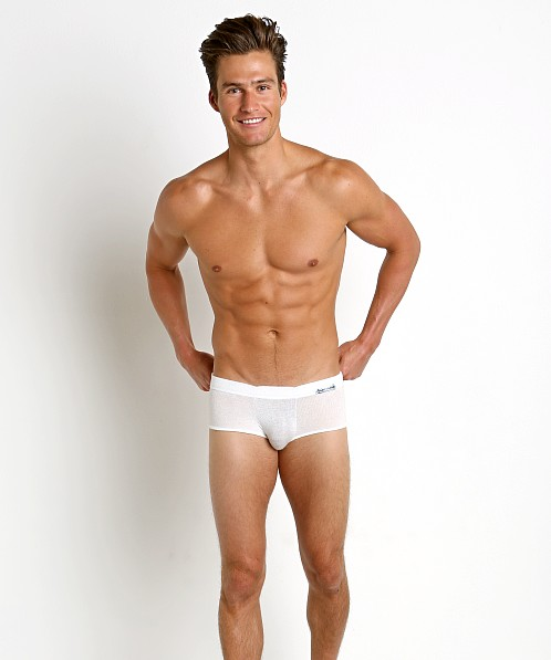Modus Vivendi Mohair-Look Boxer Brief Off-White