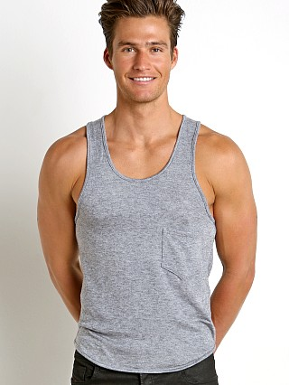 Modus Vivendi Mohair-Look Tank Top Grey