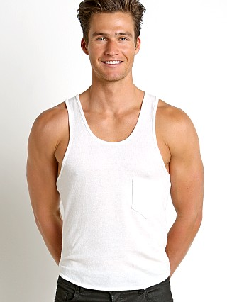 Modus Vivendi Mohair-Look Tank Top Off-White