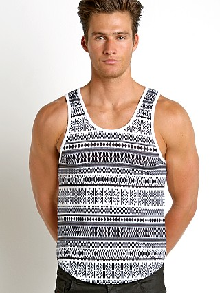 Modus Vivendi Graphic Mesh Back Tank Top Print/Mesh