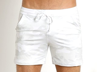 Complete the look: LASC White Party Camouflage Performance Short White