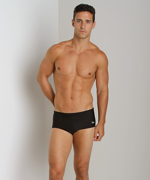 "Speedo 5"" Lycra Dive Brief Black"