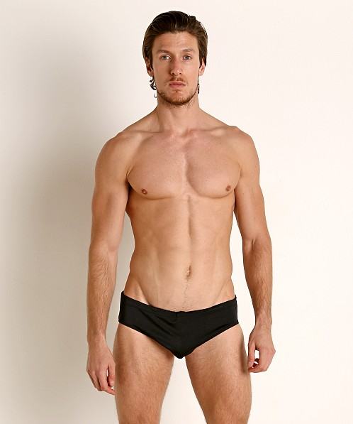 Rick Majors Power Spandex Drawcord Brief Black