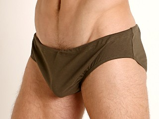 You may also like: Rick Majors UltraLite Stretch Cotton Drawcord Brief Olive
