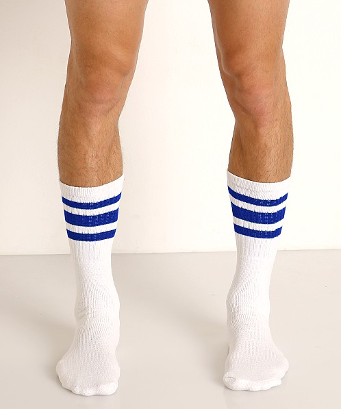 Rick Majors Athletic Tube Socks Blue