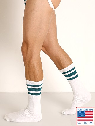 Rick Majors Athletic Tube Socks Green