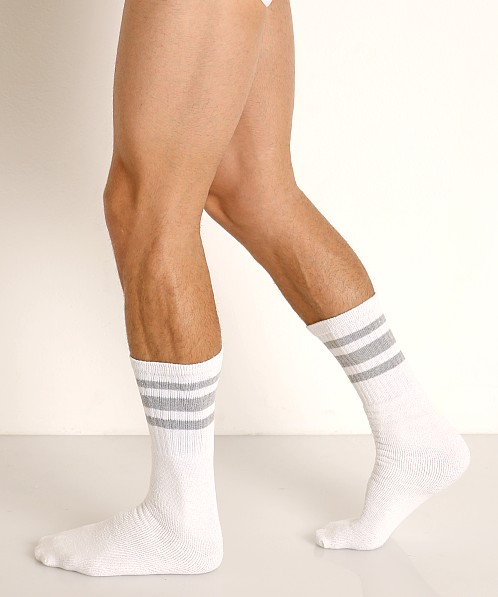 Rick Majors Athletic Tube Socks Grey