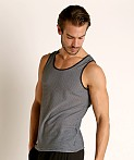 St33le Air Mesh Performance Tank Grey, view 3
