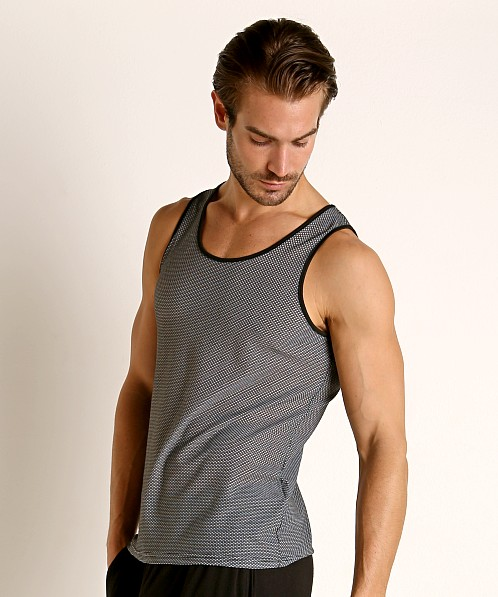 St33le Air Mesh Performance Tank Grey