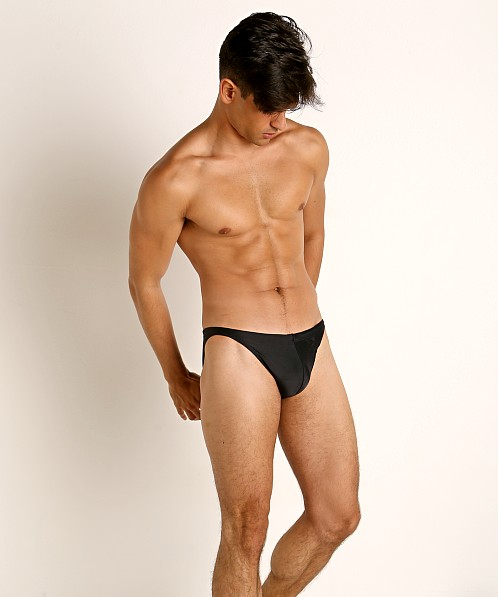 LASC Super Low Rise Swim Brief Black